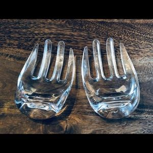 Other - Clear Acrylic Salad Hands